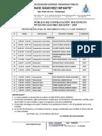 Cronograma de Clase Modelo-2018- Iespp Dsi