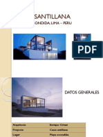 Casa Santillana Analisis