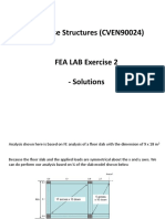 High Rise Structures (CVEN90024) - FEM LAB Exercise 2 - Solutions(1)