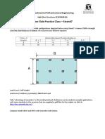 High Rise Structures (CVEN90024) - FEM LAB 2 Exercise(1)