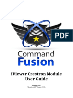 CommandFusion IViewer Crestron Module User Guide v1.0.1