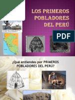 Los Primeros Pobladores Del Peru SEMANA 3