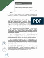 Res 038 2017 Sunedu CD Amplian El Plazo Para Supervisar Los Criterios de Reubicacion de Estudiantes Aprobado Por Rcd 021 2017