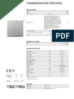 000324922_Scheda Tecnica Condizionatore TP2020