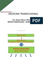 Medicina Transfusional UPAL