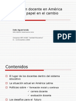 Formacion Docente en Latinoamerica