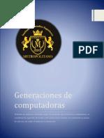 Generaciones de Computadoras