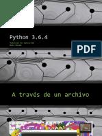 Ejecutar Python
