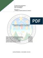 Resumen y Cuestionario Manual Básico de Derecho Comercial, Derecho Cambiario y Concursal