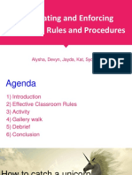 copy of alpha group - classroom rules