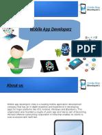 Mobile App Developerz India