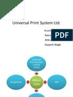 Universal Print System