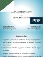 introduction to cryogenic engine