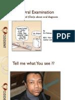 Tips Intra Oral Examination