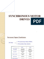 Synchrouns Motor Drive and Self and True Synchronus Modes of Operation