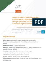 10 CSP Program Summit Southern Research Presnetation