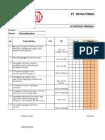 Form Tujuan, Sasaran Dan Program K3