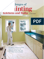 The Challenges of Painting Kitchen and Bath