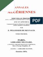 Annales algeriennes