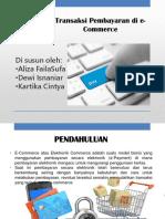 Sistem Pembayaran e Commerce