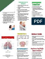 Leaflet Bronchopnemonia