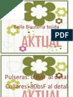 Bella Bisutería tejida