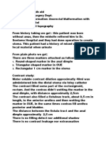Lopography Distal - MAR+fistel nizam
