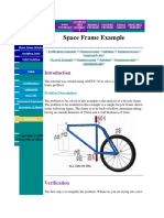 Space Frame Example