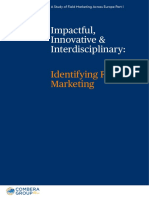 A SF Study of Field Marketing Across Europe P I