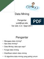 BD 13b Pengenalan Data Mining