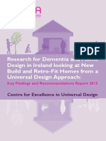 Research for Dementia and Home Design in Ireland