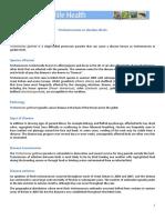 Trichomonosis Fact Sheet Garden Wildlife Health