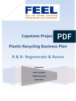 Plastic recyclingCapstone Project