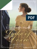 Duke of Desire - Elizabeth Hoyt