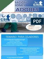 Presentación Curso Preparacion Oposiciones Celadores