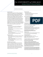 2010-2011 Editing Certificate Program Brochure