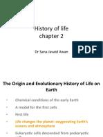 History of Life Chp 22