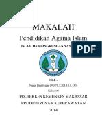 Islam Dan Lingkungan Yang Sehat