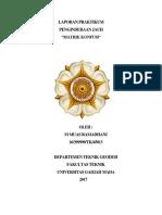 Laporan Matrik Konfusi Geodesi