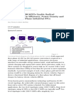 MosfetSiC Wolfspeed Enable Radical Improv in Effic Poder Density and Cost for Three-Phase Industrial PFCs