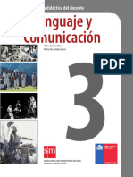 Lenguaje y Comunicación 3º Medio - Guía Didáctica Del Docente
