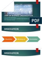 Law of Business Organization -   Dissolution (2).pptx