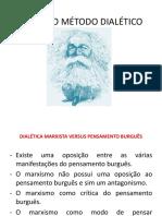 Marx e o Método Dialético