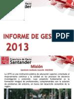 Informe Gestion 2013.1