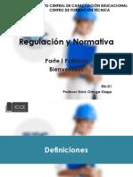 Regulacion y Normativa Parte 1