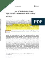 Rein Raud-dogen Idea of Buddha-nature_no Referencialismo & Dinamica