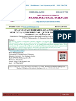 DNA CLEAVAGE POTENTIAL OF 4-(PIPERIDIN-1- YLMETHYL)-2-(THIOPHEN-2-YL) QUINOLINE ANALOGUES