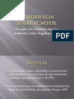 HEMORRAGIA SUBARACNOIDE