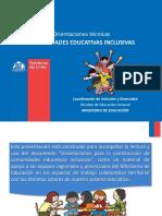 Orientaciones Comunidades Inclusivas Mineduc La Serena Agosto 2017