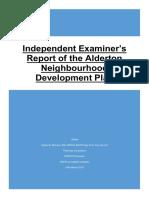 Alderton NDP Independant Examiners Report